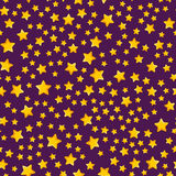 Seamless pattern with star. Seamless pattern with cartoon star. Cute illustration Royalty Free Stock Photography