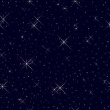 Seamless pattern with stars. Stock Photo