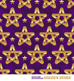Seamless pattern with stars royalty free illustration