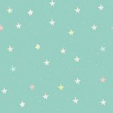 Seamless pattern with stars Royalty Free Stock Image