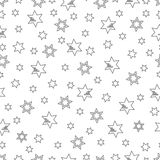 Christmas and New Year 2019 background with stars. Seamless pattern with stars. Christmas and New Year 2019 background. Design for packaging paper, fabric and Vector Illustration