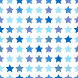 Seamless Pattern with stars Royalty Free Stock Photos
