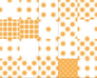 Seamless pattern stars Stock Images