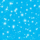 Seamless pattern with  stars Stock Images