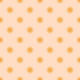 Seamless pattern stars Royalty Free Stock Images