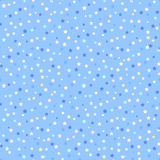Seamless pattern with stars. Stock Image