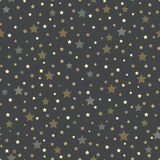 Seamless pattern with stars. Vector illustration Stock Illustration