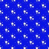 Seamless pattern with stars Stock Photos