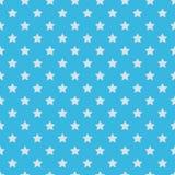 Seamless pattern of stars Stock Photo