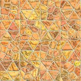 Seamless pattern of a stone. D tile. Geometrical figures. Good for replicate Royalty Free Stock Photography