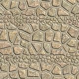 Seamless pattern of a stone. D tile. Geometrical figures. Good for replicate Stock Photography