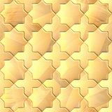 Seamless pattern of a stoned tile. Geometrical figures. Good for replicate Stock Images