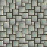 Seamless pattern of a stoned tile. Geometrical figures. Good for replicate Stock Photography