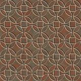 Seamless pattern of a stoned tile. Geometrical figures. Good for replicate Royalty Free Stock Image