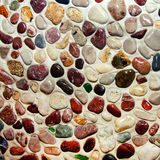 Seamless pattern of stones Royalty Free Stock Photo