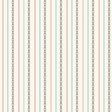 Seamless pattern with straight lines and anchor chain Royalty Free Stock Image