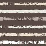 Seamless pattern with stripe. Forms printed in ink. Hand drawn. Vector illustration Stock Photos