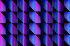 Seamless pattern with striped squares Stock Images
