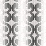 Seamless pattern - striped twirls Royalty Free Stock Image