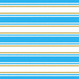 Seamless pattern with stripes and chains. Ongoing backgrounds of marine theme. Stock Photo