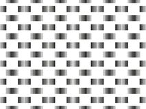 Seamless pattern with stripped lines in different thickness, abs Royalty Free Stock Photography