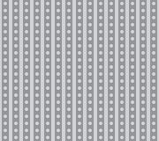 Seamless pattern of strips with circles. Stock Photo