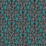 Seamless pattern in the style of Damascus. Stock Photo