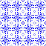 Seamless pattern in the style of Dutch tiles Royalty Free Stock Image
