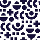 Seamless pattern in 90 80 style Stock Photo