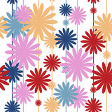 Seamless pattern with stylish colors Royalty Free Stock Photography