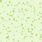Seamless pattern with stylization leaves of bamboo Royalty Free Stock Images