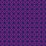 Seamless pattern with stylized celtic geometric ornament in pink, blue and purple colors, vector royalty free stock photography