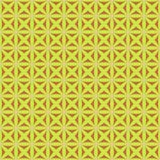 Seamless pattern with stylized celtic geometric ornament in yellow, pink and brown colors, vector stock images