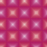 Seamless pattern with stylized circle. Vector Stock Images