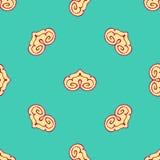 Seamless pattern stylized. Stock Images