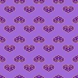 Seamless pattern stylized. Stock Photography