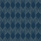Seamless pattern with stylized leaves Royalty Free Stock Images