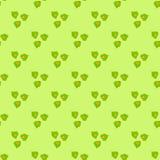 Seamless pattern of stylized leaves Stock Photo