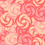 Seamless pattern with stylized roses Royalty Free Stock Photos