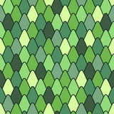 Seamless pattern with stylized scales. Stock Image