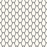 Seamless pattern with stylized scales. Royalty Free Stock Photos