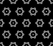 Seamless pattern, subtle geometric texture Royalty Free Stock Photos