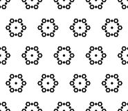 Seamless pattern, subtle geometric texture Stock Images