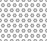 Seamless pattern, subtle geometric texture Royalty Free Stock Photography