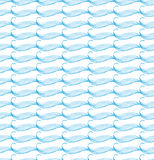 Seamless pattern with subtle waves Stock Photos