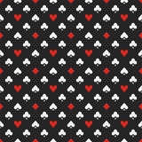 Seamless pattern with suits Royalty Free Stock Images