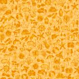 Seamless pattern summer icons Stock Image