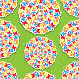 Seamless pattern for summer or spring design Royalty Free Stock Photo