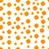 Seamless Pattern with Summer Sun Shapes. Vector Illustration on a white background. Seamless Pattern with Summer Sun Shapes. Vector Illustration. Flat Style Stock Photo