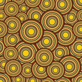 Seamless pattern with sun labels. Royalty Free Stock Photos
